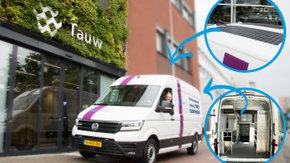 Tauw neemt e-Crafter in gebruik: eerste elektrische veldwerkbus voor uitvoeren bodemonderzoeken