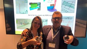 Tauw en ProRail ontvangen Duurzame Parel voor gezamenlijk project