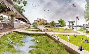 Eerste fase getijdenpark in de Maashaven van start