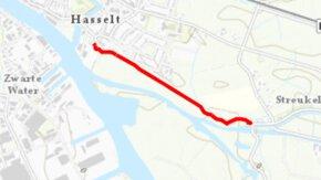 Voorbereidingen dijkversterking Stenendijk Hasselt in volle gang