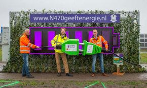 Duurzaamste weg van Nederland - de N470 - officieel geopend