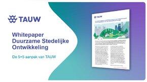 Whitepaper Duurzame Stedelijk Ontwikkeling - 5+5 aanpak