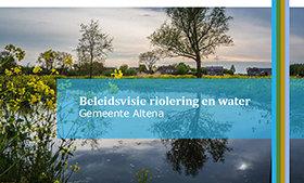 Beleidsvisie riolering en water voor nieuwe gemeente Altena