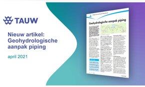 Nieuw artikel: Geohydrologie bij dijkversterkingen