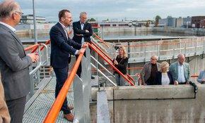RWZI Weesp officieel geopend: eerste Full Scale ICEAS in Nederland in bedrijf genomen