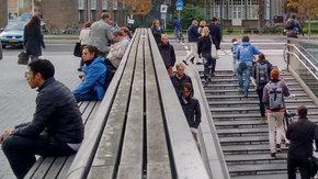 Onderzoek naar zwerfafval, gedrag en looproutes rondom Leiden CS