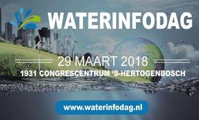Bezoek onze stand en lezingen tijdens de Waterinfodag op 29 maart